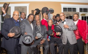 The Collective without their hats!