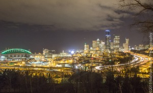 Seattle @ Night-11