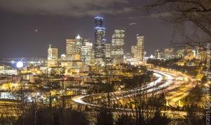 Seattle @ Night-12