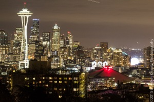 Seattle @ Night-2