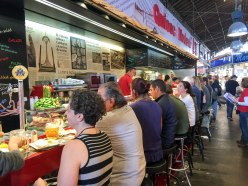 Dining Inside the Market